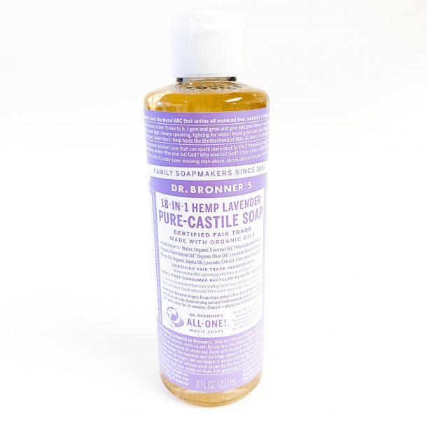 Doctor Bronners Lavender Soap