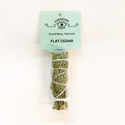 Flat Cedar Smudge Stick