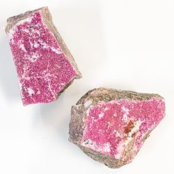 Cobaltoan Calcite Chunks