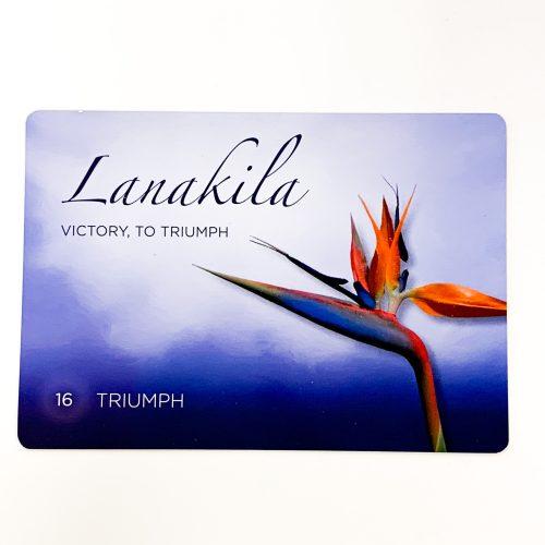 Hawaiian Healing Intentions Card 1