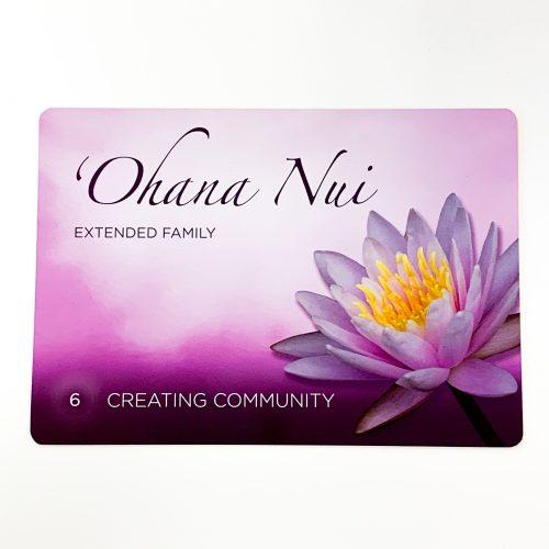 Hawaiian Healing Intentions Card 2