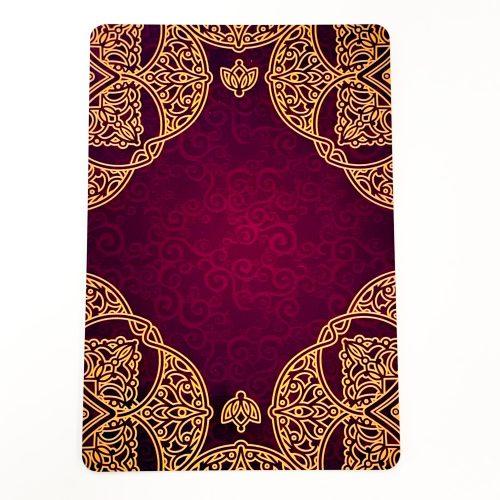 Rumi Oracle Card Back