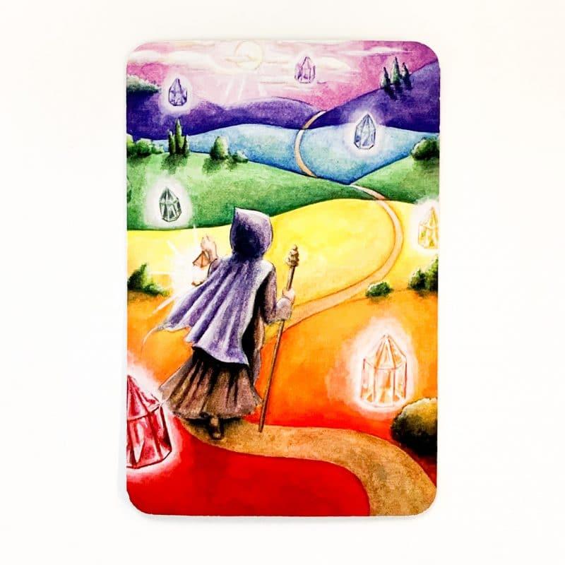 Chakra Wisdom Oracle Card back