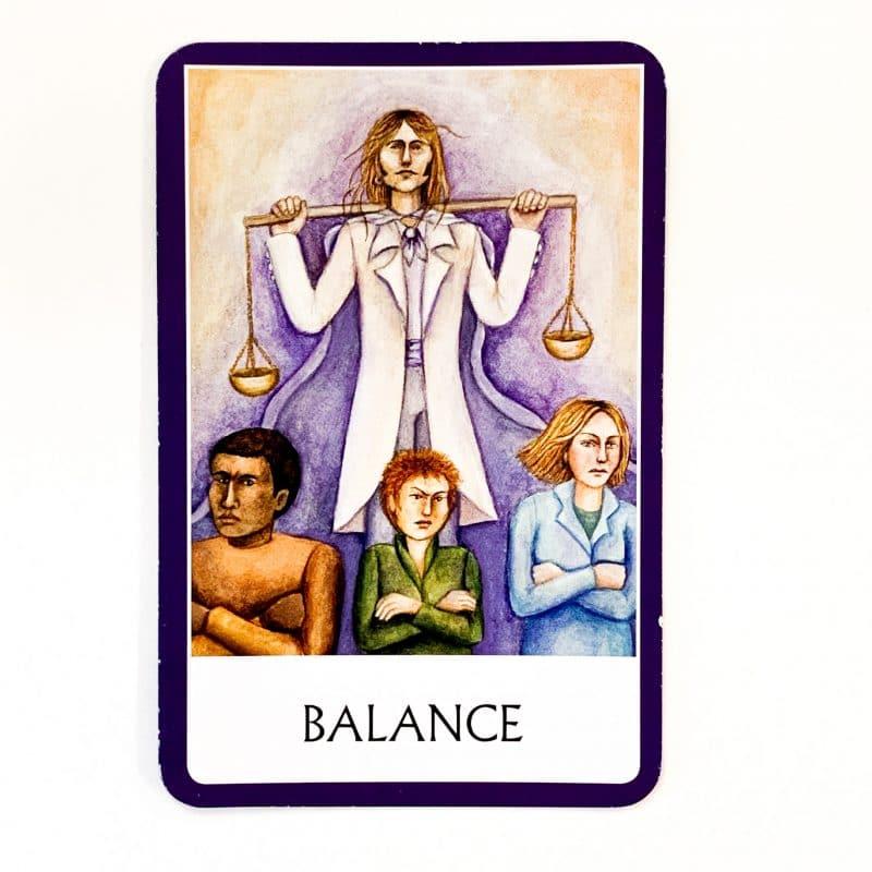 Chakra Wisdom Oracle Card 2