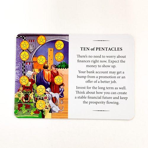 Practical Wisdom Tarot Card 1