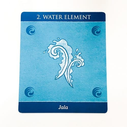 Mudras for Awakening the five Elements Card 1