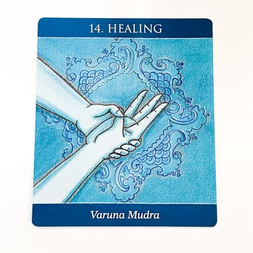 Mudras for Awakening the five Elements Card 2