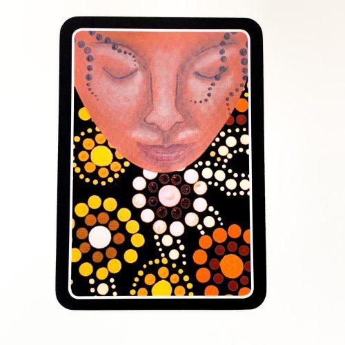Aboriginal Dreamtime Oracle Card Back