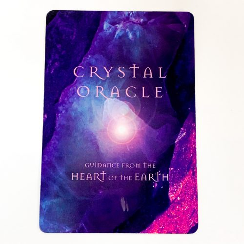 Crystal Oracle Card Back