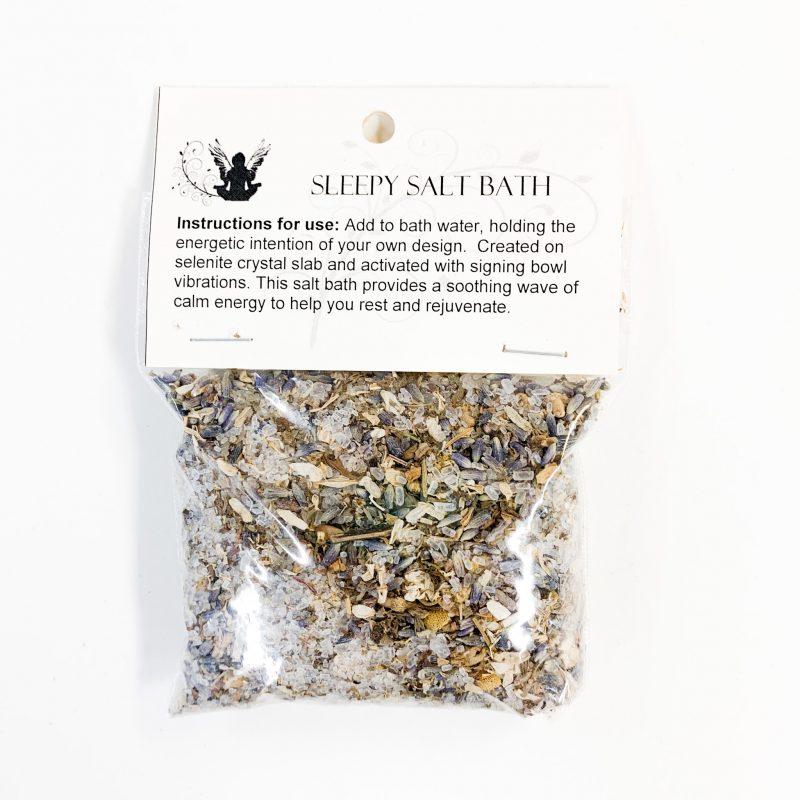 Sleepy Salt Bath
