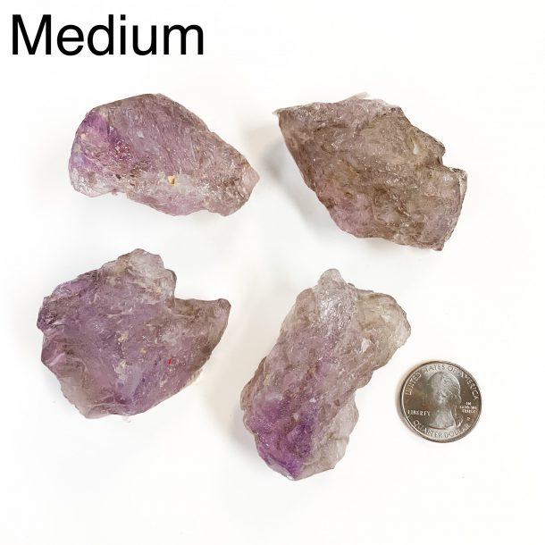 Amethyst Elestial Medium