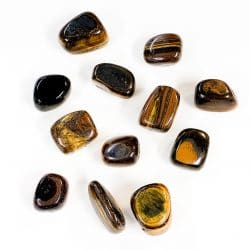 Gold Tiger's Eye Large Tumbled