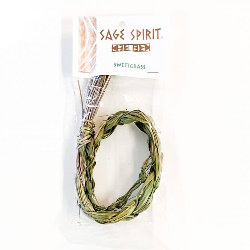 Sage Spirit Sweetgrass front