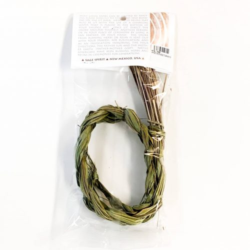 Sage Spirit Sweetgrass back