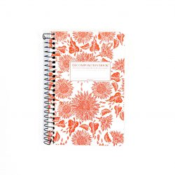 Decomposition Notebook Small - Flowers