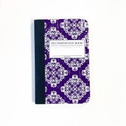 Victorian Purple Composition Notebook