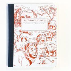 African Safari Notebook
