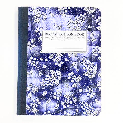 Blueberry Composition Notebook