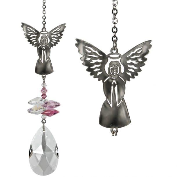 Crystal Fantasy Suncatcher - Angel