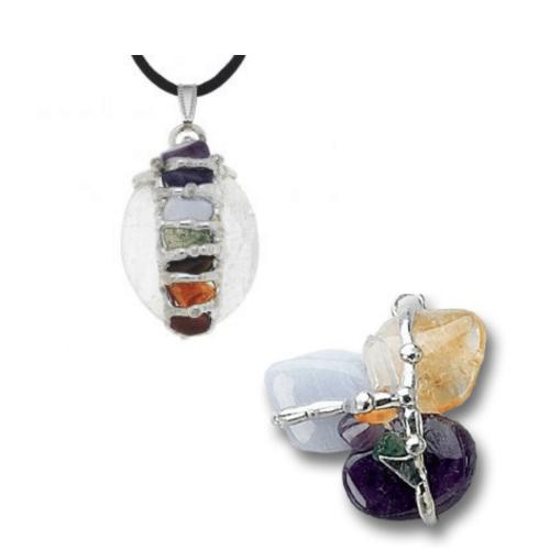 Chakra Seeds of Light Pendants