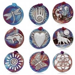 Raku Medallions
