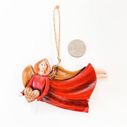 Angel Ornament Heart flying
