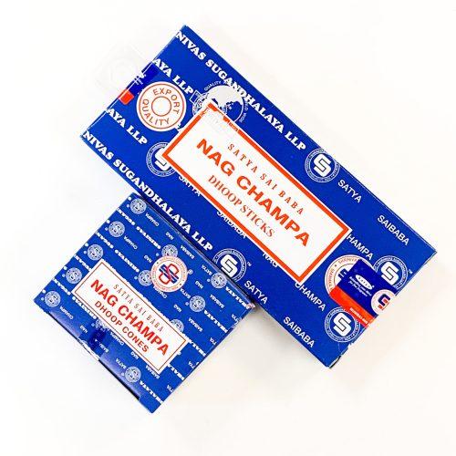 Satya Nag Champa Incense Dhoop Sticks & Cones