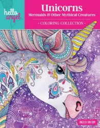 Hello Angel Unicorns Coloring Book