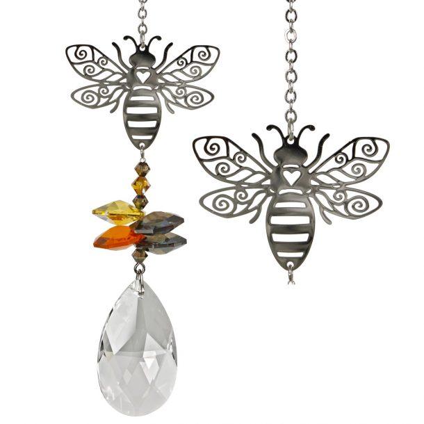 Crystal Fantasy Suncatcher - Bee