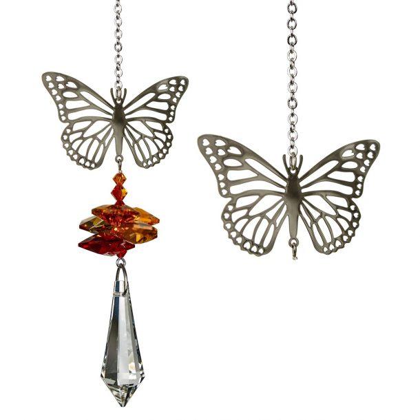 Crystal Fantasy Suncatcher - Butterfly
