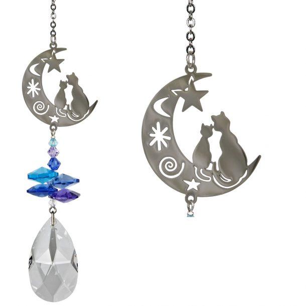 Crystal Fantasy Suncatcher - Cats