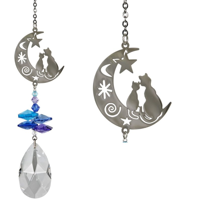 Crystal Fantasy Suncatcher - Cats