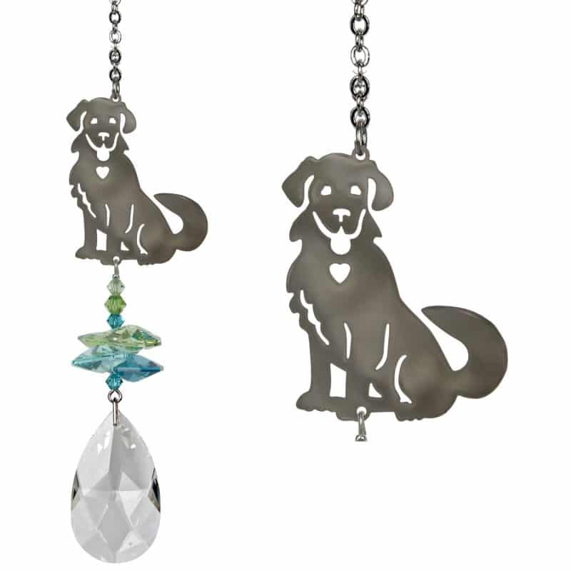 Crystal Fantasy Suncatcher - Dog