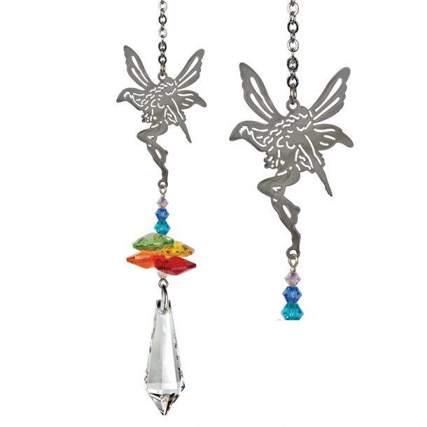 Crystal Fantasy Suncatcher - Rainbow Fairy