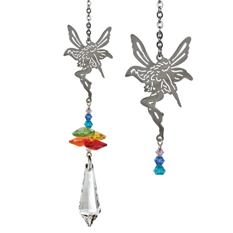 Crystal Fantasy Suncatcher - Rainbow Fairy