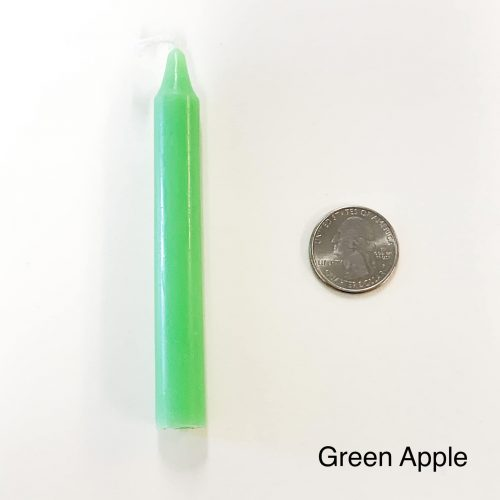 Apple Green Tiny Taper Candle