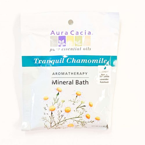 Tranquil Chamomile Aura Cacia Mineral Bath