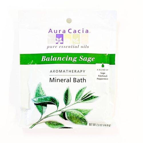 Balancing Sage Aura Cacia Mineral Bath