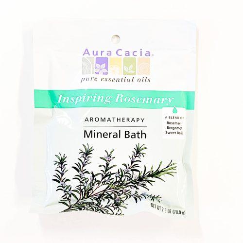 Inspiring Rosemary Aura Cacia Mineral Bath