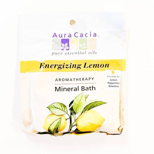 Energizing Lemon Aura Cacia Mineral Bath