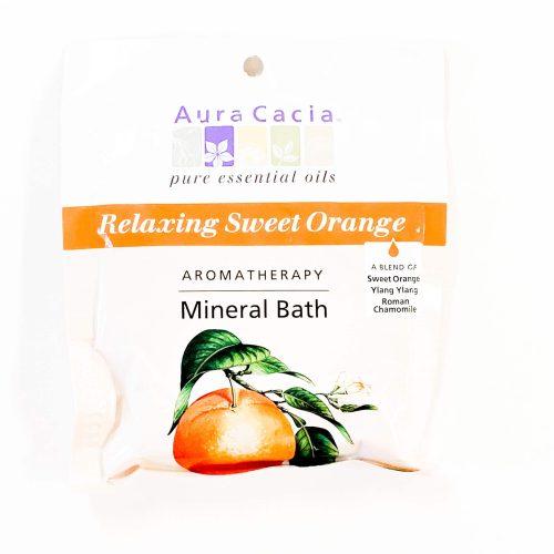 Relaxing Sweet Orange Aura Cacia Mineral Bath