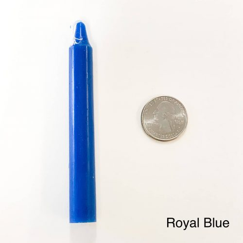 Royal Blue Tiny Taper Candle