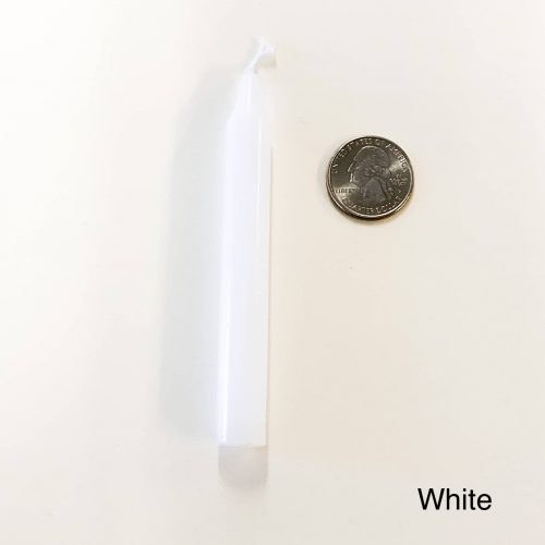 White Tiny Taper Chime Candle