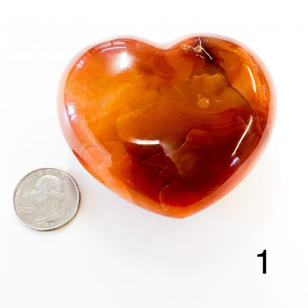 Carnelian Heart 1