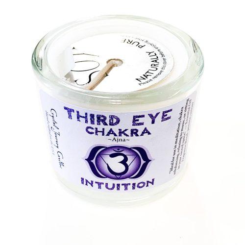 Third Eye Chakra Soy-filled Votive holder