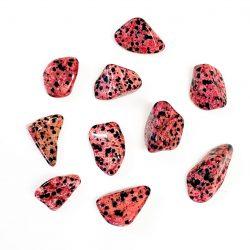 Red-dyed Dalmatian Jasper
