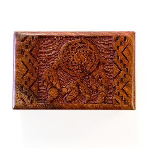 Wood Box - Dreamcatcher