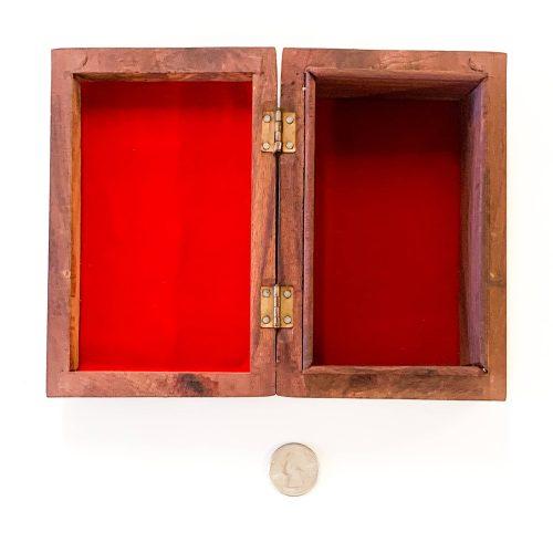 Wood Box - inside