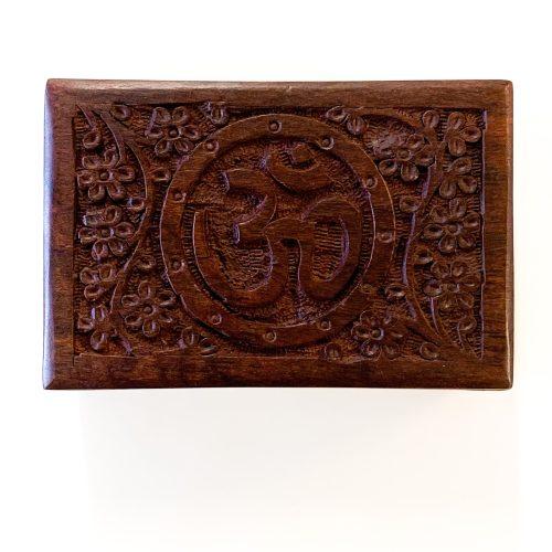 Wood Box - Om