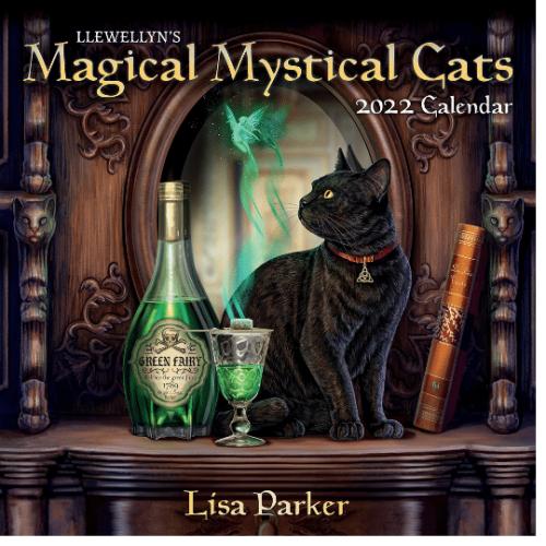 2022 Mystical Cats Calendar Cover